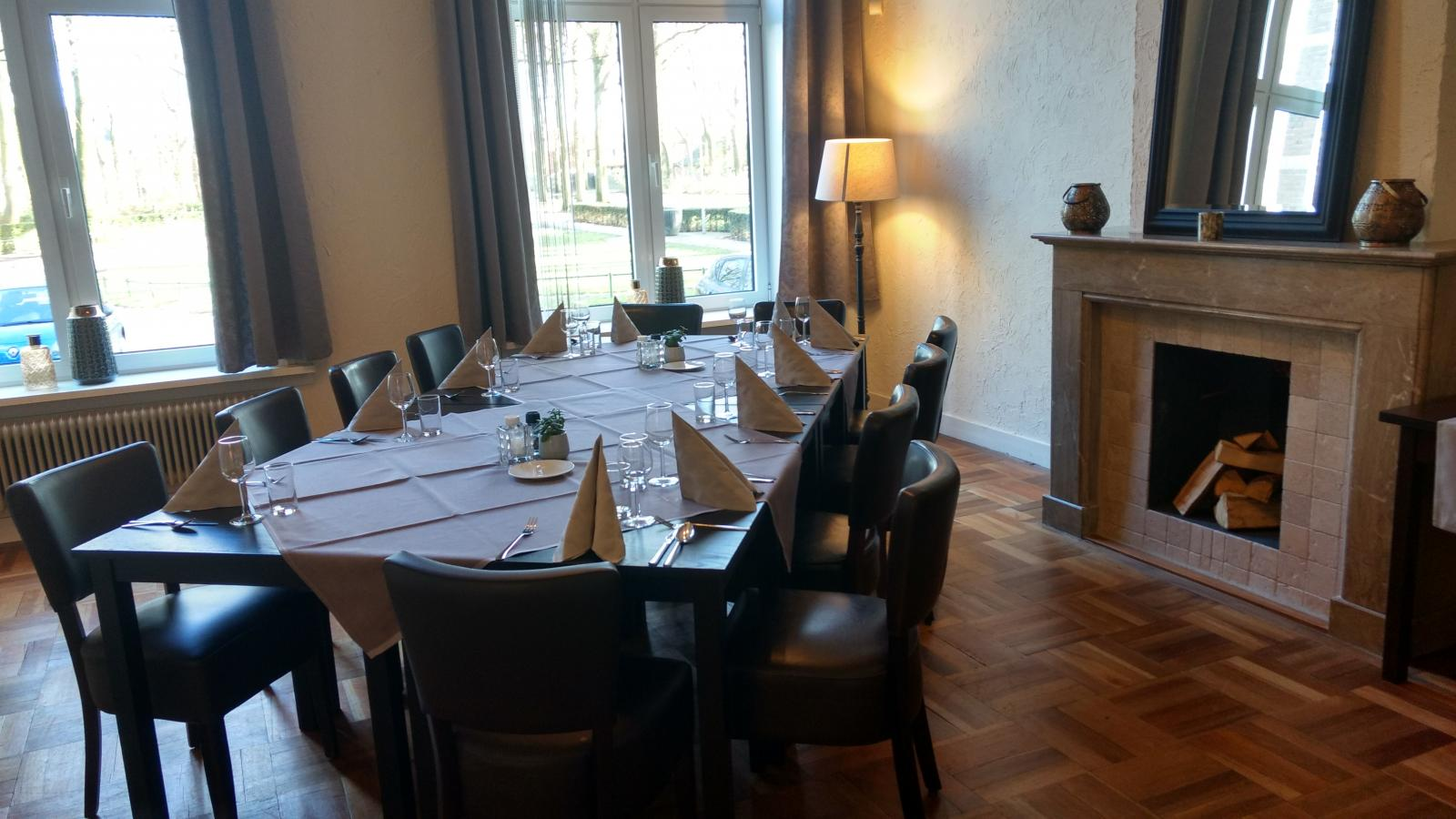 Private dining 15 personen